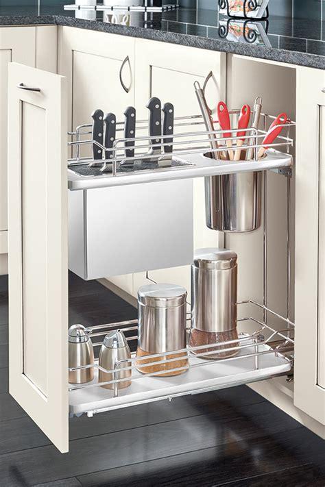 Base Knife Holder Pull Out Cabinet - Kitchen Craft