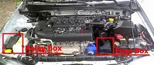 Fuse Box Diagram Nissan Sentra  B15  2000
