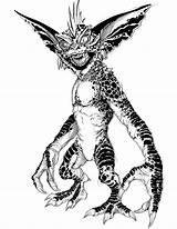 Gremlins Gremlin Drawing Mohawk Sketch Tattoo Getdrawings Sketches Paintingvalley Homebrewery Ilustrator Connor sketch template