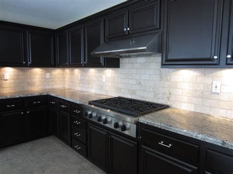 black kitchen cabinets modern countertops remodeling dark for sale espresso with pictures white
