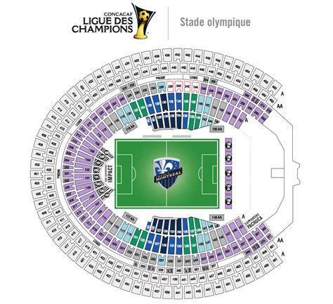 plan stade impact mars20151 parc olympique de montr 233 al