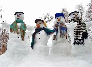 Funny Snowman Photography