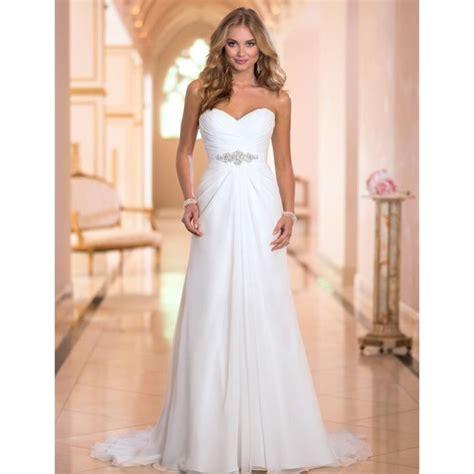 robe de mariée bustier strass robe de mari 233 e mariage bustier en cœur longue tra 238 ne