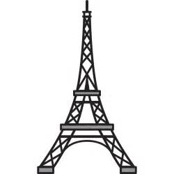 eiffel tower favors eiffel tower stencil dromgfk top cliparts painted