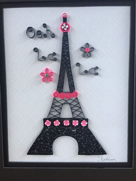 quilled eiffel tower my quilling projects tower quilling and paper quilling