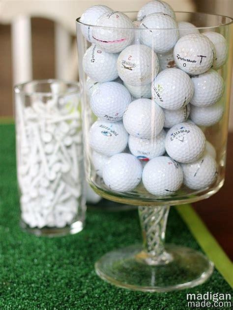 golf ball vase filler decoration idea cool golf