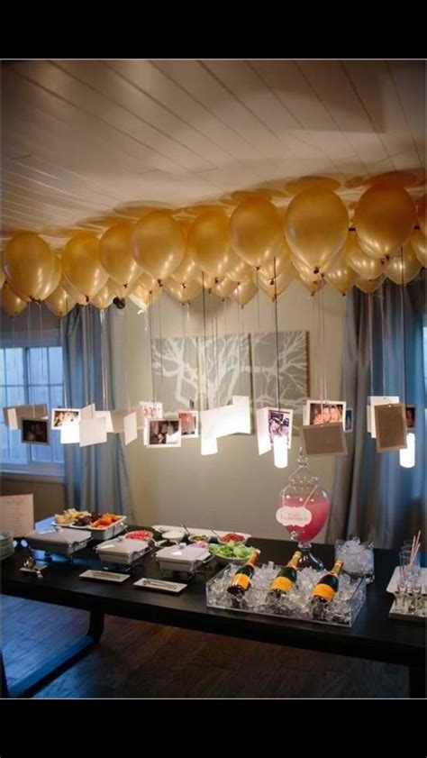 balloons  pictures attached  tables birthday