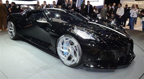 bugatti la voiture noire  joyau sans eclat geneve