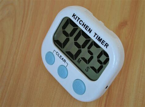 Kitchen Timer by Lcd Digital Kitchen Timer Magnetic Cooking Large Count