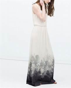 robe longue de soiree zara la mode des robes de france With zara robe soirée longue
