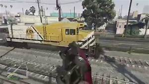 Look GTA 5 NEXT GEN Funny Moents Train Crash Crazy ...