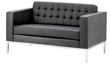 Contemporary Black Leather Sofa by Contemporary Black Leather Sofa Reception Sofas Uk