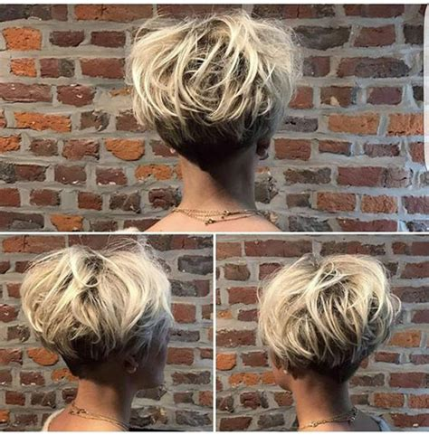 latest short stacked haircuts short hairstyles