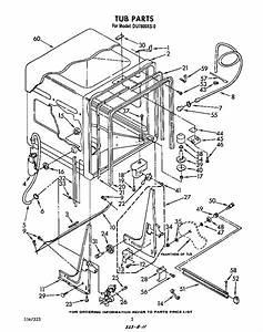 Whirlpool Dishwasher Parts