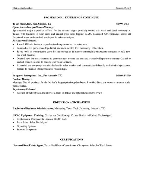 Auto Detailing Manager Resume by Resume 3 9 15