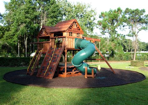 Home Playground :  Simple Backyard Landscaping Ideas For Kids