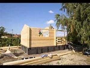 Stavba chatky