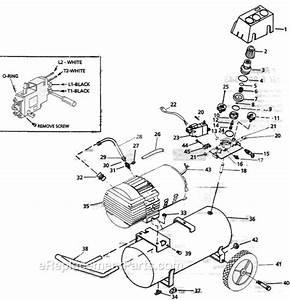 Campbell Hausfeld Mt6001 Parts List And Diagram