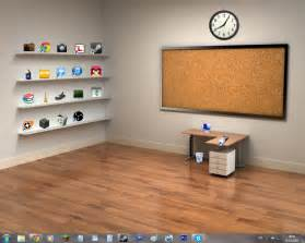Office Desktop Shelves Wallpaper