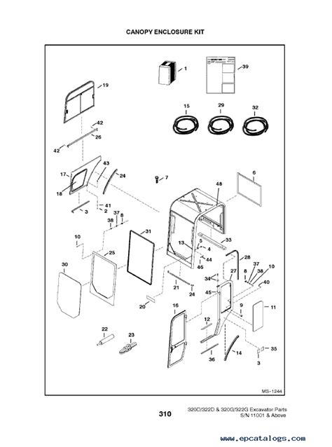 bobcat     series excavators parts manual
