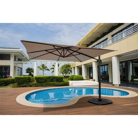 parasol deporte 4x3m gris a mt rotatif 360 alu parasol d 233 port 233 4x3m gris 192 m 226 t rotatif 360 176 alu de conception de maison