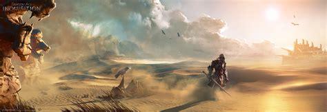 desert video games artwork