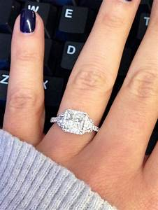 73 best radiant cut engagement ring images on pinterest With wedding rings for fat fingers
