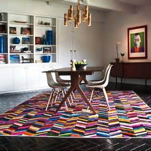 Cowhide Rugs Houston Tx by Based Kyle Bunting S Cowhide Designs Are Colorful