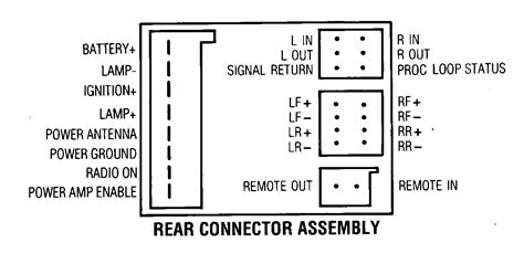 Car Audio Wire Diagram Codes Ford Factory Stereo