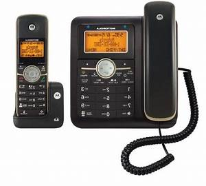 Motorola Dect 6 0 Corded Base Phone With Cordless