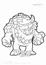 Yeti Draw Clash Clans Coloring Drawitcute Pages Easy Pikachu Drawing Drawings Christmas sketch template