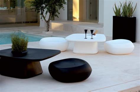 black decorative pillows 25 modern outdoor furniture sets that brighten up backyard