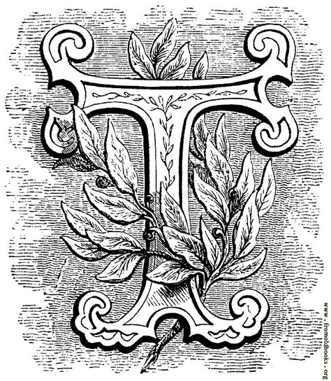 floriated initial letter