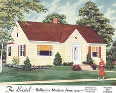 1940s Exterior House Colors  1940s, 1950s Homes  Ideas