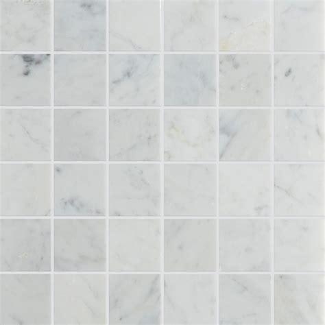 Marble Mosaic Tile carrara honed marble mosaic tile mandarin