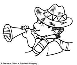 sombreros mexicanos para colorear