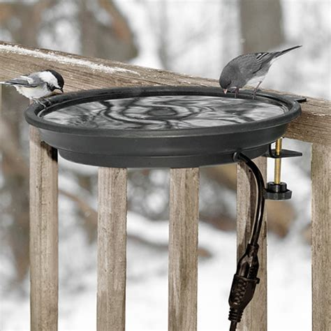 duncraft com heated bird bath cl mount