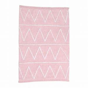 tapis enfant hippy soft rose lorena canals 120x160 With tapis enfant rose