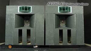 Altec A7 The Voice Of The Theater