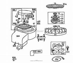 Wiring Diagram Database  Briggs And Stratton Pull Start