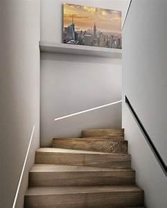 Treppe Indirekte Beleuchtung : die led lichtleiste 30 ideen wie sie durch led leisten verlockende innendesigns schaffen ~ Eleganceandgraceweddings.com Haus und Dekorationen