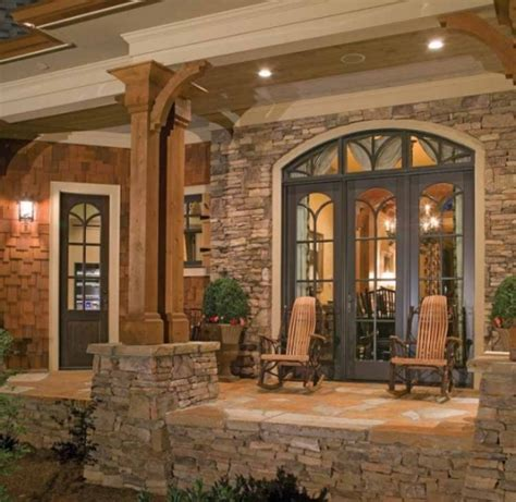 beautiful stonework   craftman home favethingcom