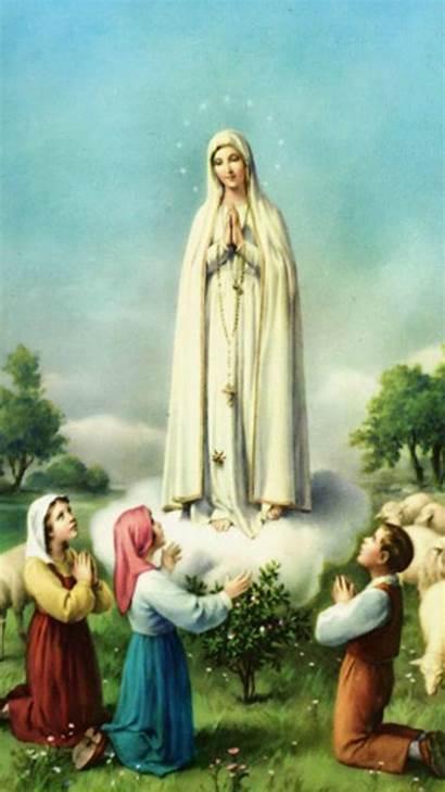 Mary Mother Wallpapers Virgin Desktop Blessed Jesus