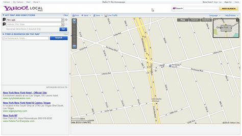 yahoo maps driving directions and traffic party