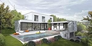 galerie le design futuriste des maisons contemporaines With quelle materiaux pour construire sa maison