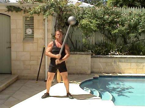 Gada Mace - INDIAN CLUBS and how to use them