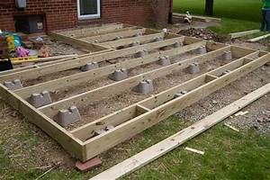 ground level hot tub deck framing - Google Search deck