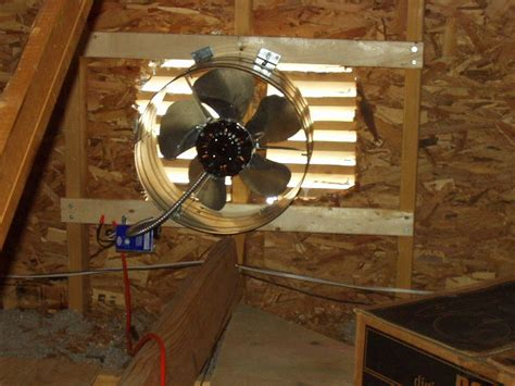 how does an attic fan work attic ventilation fans a concord carpenter