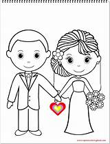 Coloring Bride Pages Groom Optimized Seo Title sketch template