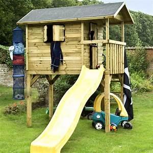 Maisonnette En Bois Sur Pilotis : construire une maisonnette en bois sur pilotis ~ Dailycaller-alerts.com Idées de Décoration